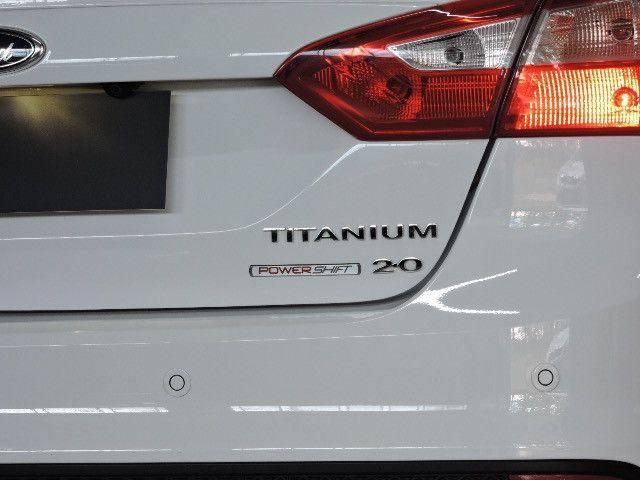 Ford Focus Sedan Titanium 2.0 2015 Impecável - Foto 9