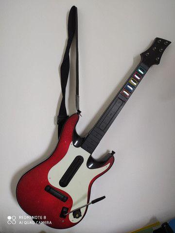 Guitarra guitar hero Xbox 360