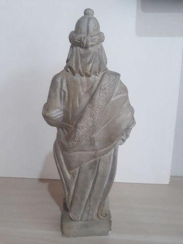 Profeta Baruc em pedra sabão  - Foto 3