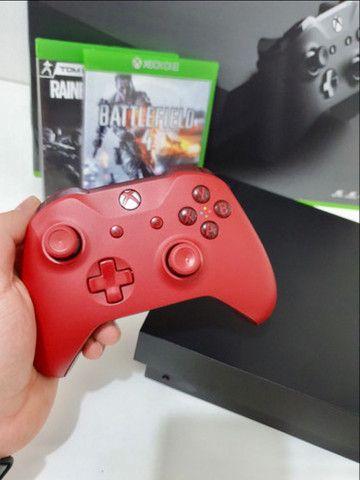 Oportunidade!!! Xbox one x 4k hd 1 terra! - Foto 2