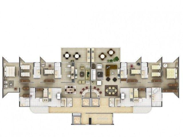 Jardins do Louvre* - Aeroclube - 1º andar - 170 m² - 04 qtos s/ 03 stes + DCE - 03 vgs - Foto 11