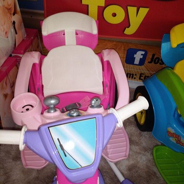 Triciclo clássico confortável e seguro ao passeio ao ar livre são os baby track - Foto 3