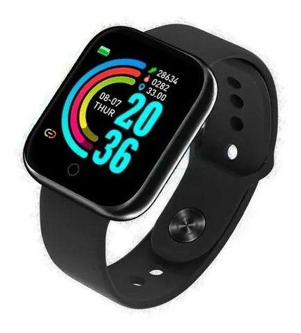 Relógio inteligente Smartwatch movimento pedômetro bluetooth - Foto 2