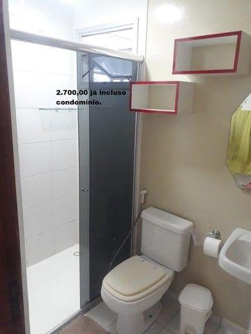 Apartamento com 2 quartos sendo 1 no Aleixo 100% mobiliado.,,;,//- - Foto 14