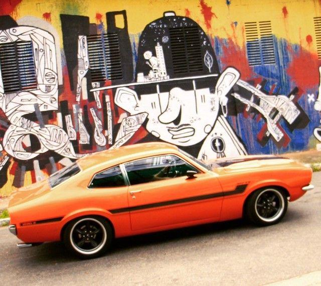 Maverick V8 GT (caracterizado)