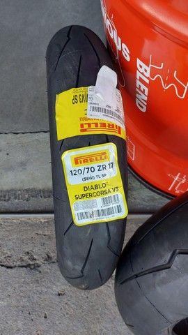 Par Pneus Pirelli Supercorsa 120/70 180/55 Barato  - Foto 2