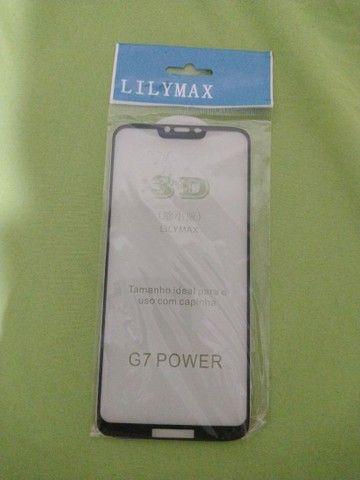 Película Motorola Moto G7 Power Vidro 3d Proteção Tela
