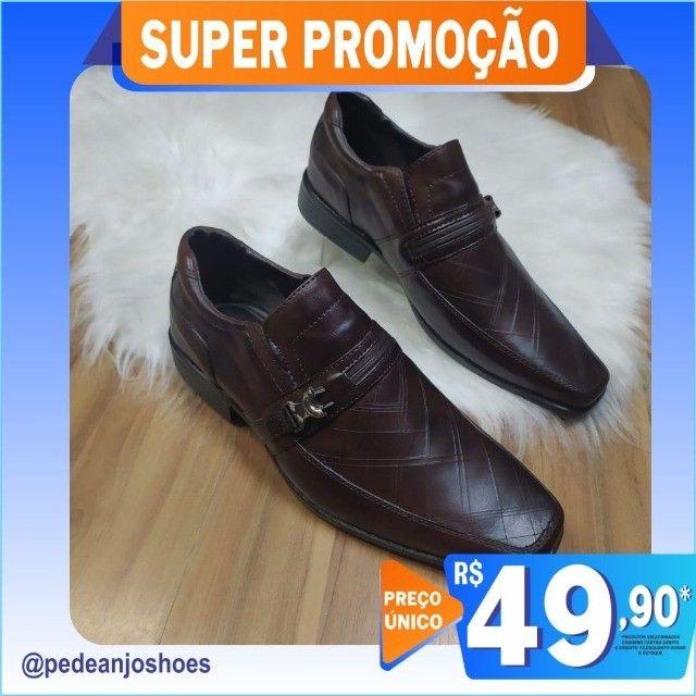 Sapato Social Masculino (Novo) - Foto 3
