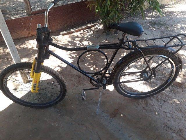 Verde se uma bicicleta  monak - Foto 3