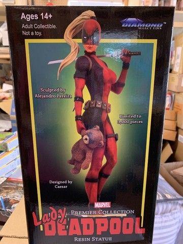 Estatua De Resina Marvel Diamond Select Lady Deadpool X-men ñ sideshow iron studios - Foto 3