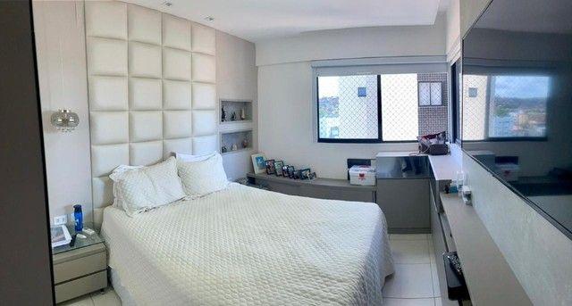 Apartamento na Jatiuca, 110m², 3/4-2 suites, varanda integrada - Foto 7