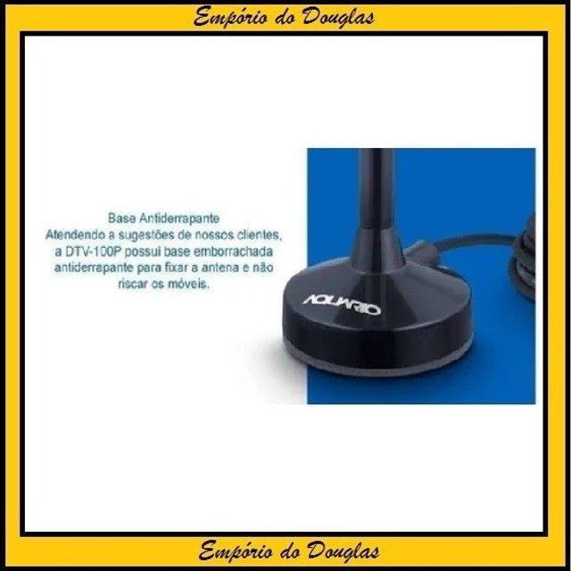 Antena Interna TV Digital Hdtv Cabo 2,5m Aquario 5x1 (Entrega Imediata!!!) - Foto 2