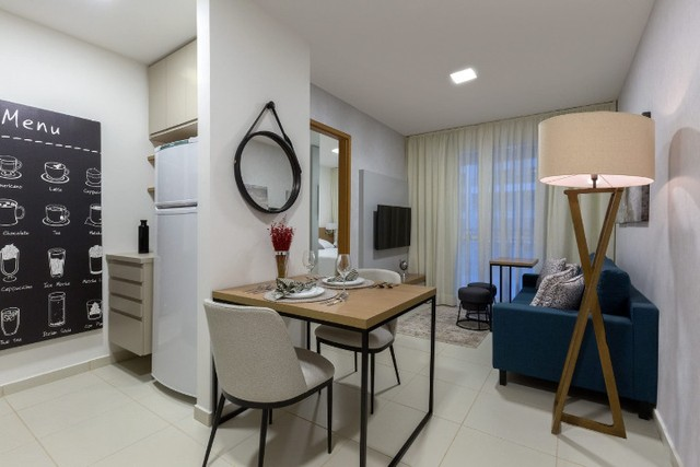 Apartamento de 01 Quarto com varanda - Foto 3