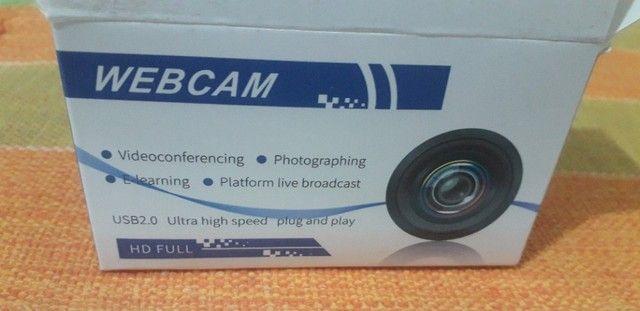 webcam full hd  1080P usb 360 graus - Foto 2