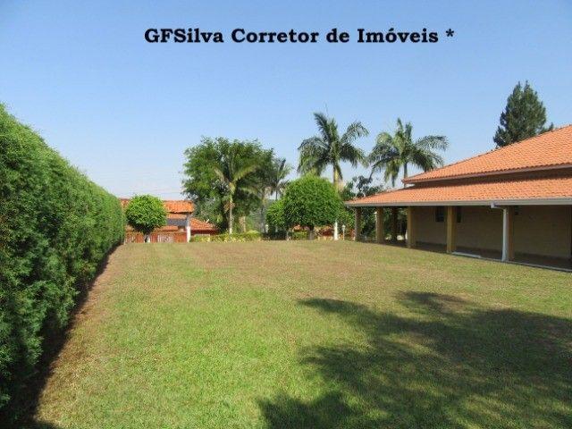 Chácara 1.500 m2 Condominio Fechado Casa 3 dorm. píscina Ref. 453 Silva Corretor
