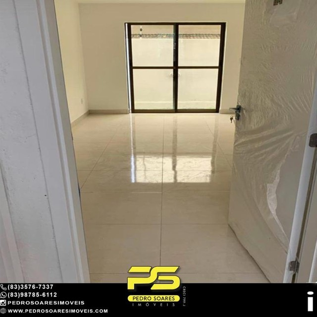 Apartamento com 2 dormitórios à venda, 50 m² por R$ 195.000 - Bancários - João Pessoa/PB - Foto 3