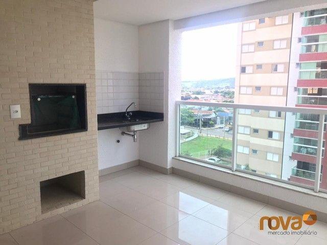 Apartamento à venda com 3 dormitórios em Residencial eldorado, Goiânia cod:NOV235809