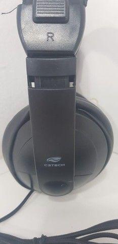 Fone de ouvido Headset C3 Tech P2 Voicer Confort  - Foto 5