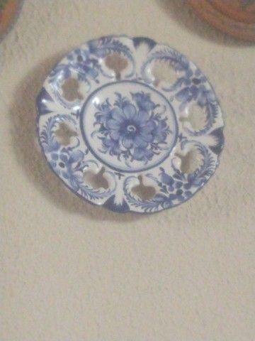 Prato de porcelana português