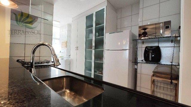 Apartamento com 3 dormitórios à venda, 80 m² por R$ 495.000,00 - Cocó - Fortaleza/CE - Foto 7