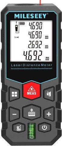 Trena Laser Digital Profissional 60m Mileseey X5 - Foto 6
