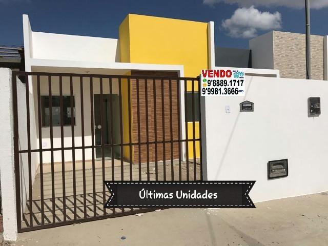 Casas no Bairro Cruzeiro Novas Financiamento Minha Casa Minha Vida com 2 e 3 Quartos