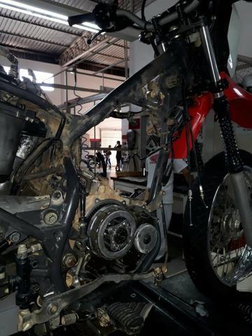 Motos Fazer o motor completo da Bros 150 e 160 R$ 250,00 (mão de obra) - Foto 2