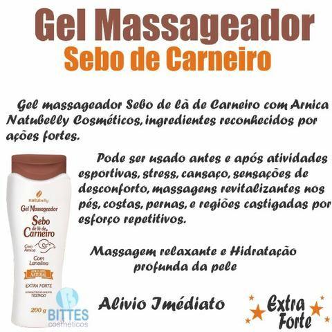 Kit com 2 unidades do Gel Massageador Sebo de Carneiro - Foto 3