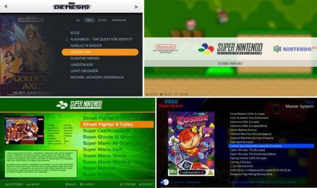 Multigame raspberry pi3 com todo emulator