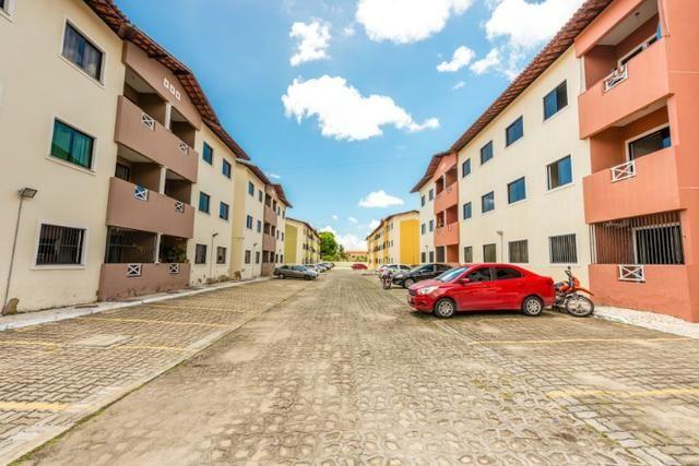 Apartamento 3 quartos na Maraponga - piscina, salão de festas, playground - Foto 5