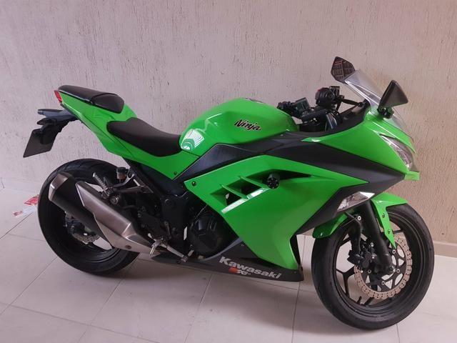 Kawasaki Ninja 300 2014 Motos Res A M Righi São José Dos