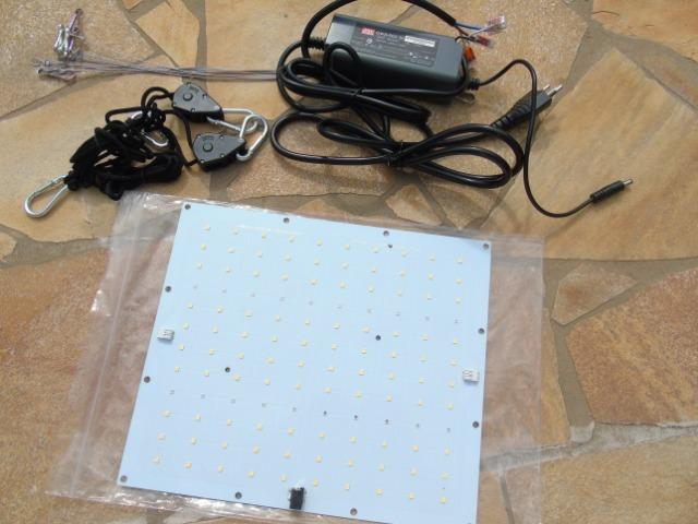 Kit 2x Quantum Board Lm301b 65w Meanwell Led Cultivo Indoor