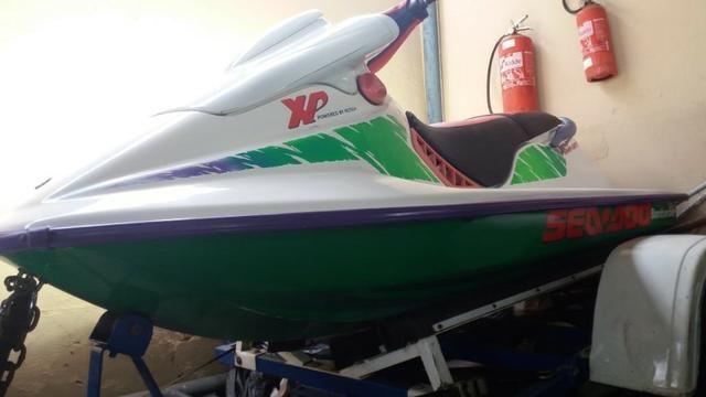 Jet Ski Sea Doo XP 1993 aceito carro moto e Parcelo no cartão 12x - 1993