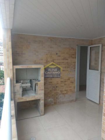 Apartamento à venda com 1 dormitórios em Guilhermina, Praia grande cod:LC0345