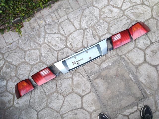 Tampa traseira + Lanternas Arteb + Aplique Moldura placa Santana G3 - Foto 10
