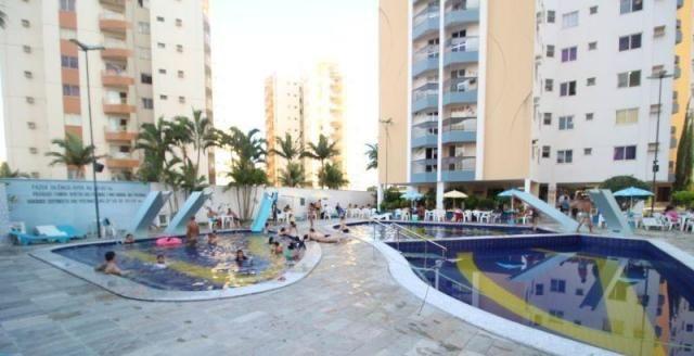 Apartamento 1 quarto para temporada em caldas novas, aguas da fonte, 1 dormitório, 1 banhe - Foto 3