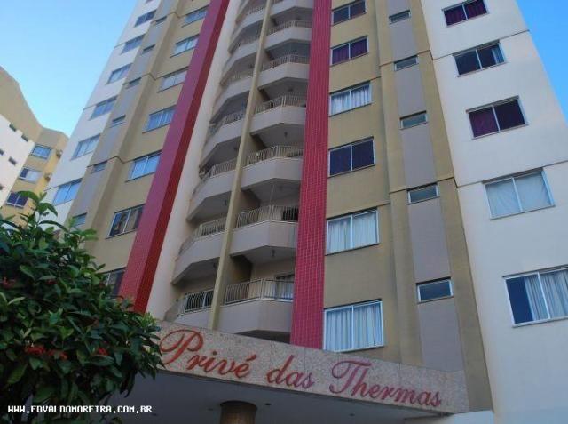 Apartamento 2 quartos para temporada em caldas novas, prive das thermas i, 2 dormitórios, - Foto 9
