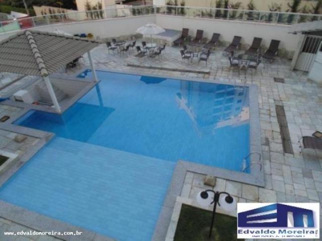 Apartamento 2 quartos para temporada em caldas novas, cezar park, 2 dormitórios, 1 banheir - Foto 7