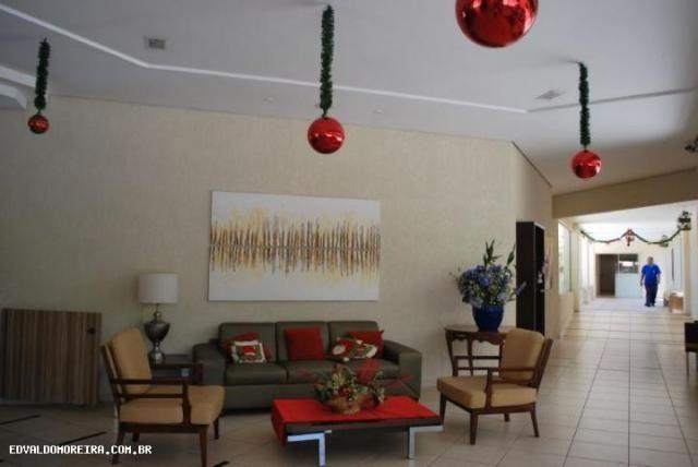 Apartamento 2 quartos para temporada em caldas novas, royal residence, 2 dormitórios, 1 su - Foto 2