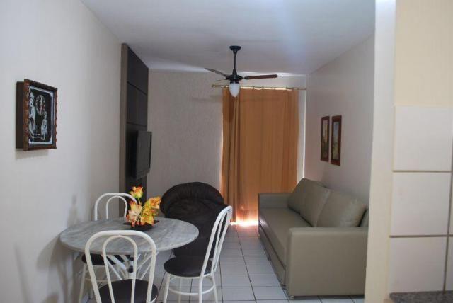 Apartamento 1 quarto para temporada em caldas novas, aguas da fonte, 1 dormitório, 1 banhe - Foto 10