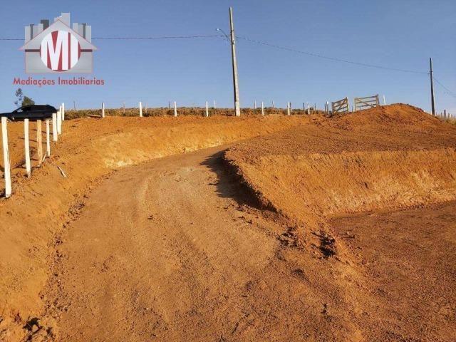Lindo terreno com escritura, poço semi-artesiano e energia elétrica em Pedra Bela - Foto 15