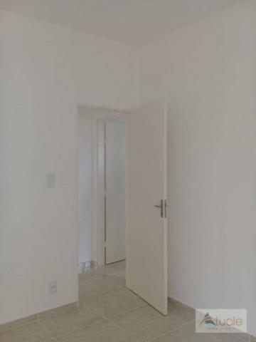 Apartamento com 2 dormitórios à venda, 59 m² - jardim santa rita i - nova odessa/sp - Foto 14