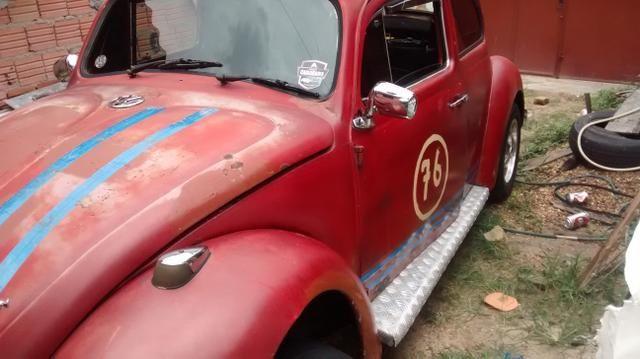 Fusca volkswagen-vermelho - Foto 2