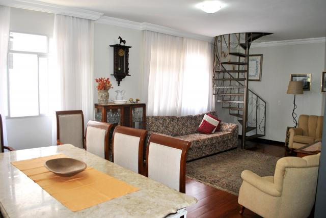 Cobertura à venda, 3 quartos, 2 vagas, buritis - belo horizonte/mg - Foto 4