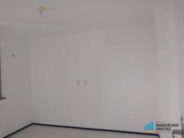 Apartamento com 2 dormitórios para alugar, 52 m² por r$ 1.109/mês - álvaro weyne - fortale - Foto 15