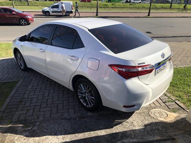 Toyota Corolla XEi 2.0 2015/2016 Placa A Único Dono Top de Linha IPVA 2020 PAGO - Foto 8