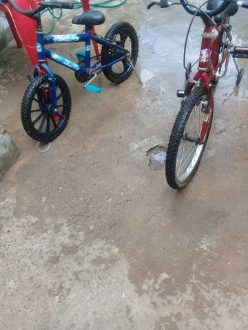 Vendo 2 bicicletas não entrego - Foto 2