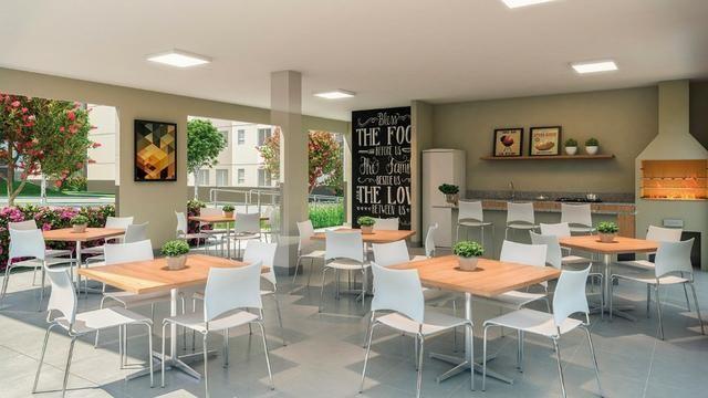 Apartamento com 2/4 e Lazer Completo na Região da Maraponga - ITBI + Registro Grátis - Foto 8