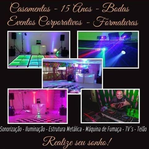 DJ para a sua Festa de Confraternização Reveillon Eventos em Geral - Foto 3
