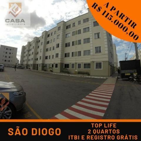 ROZ# Apartamento 2 quartos, ITBI e Registro grátis
